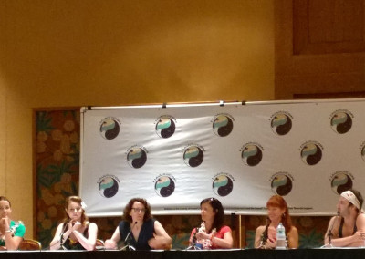 Women in SciFi panel at HawaiiCon