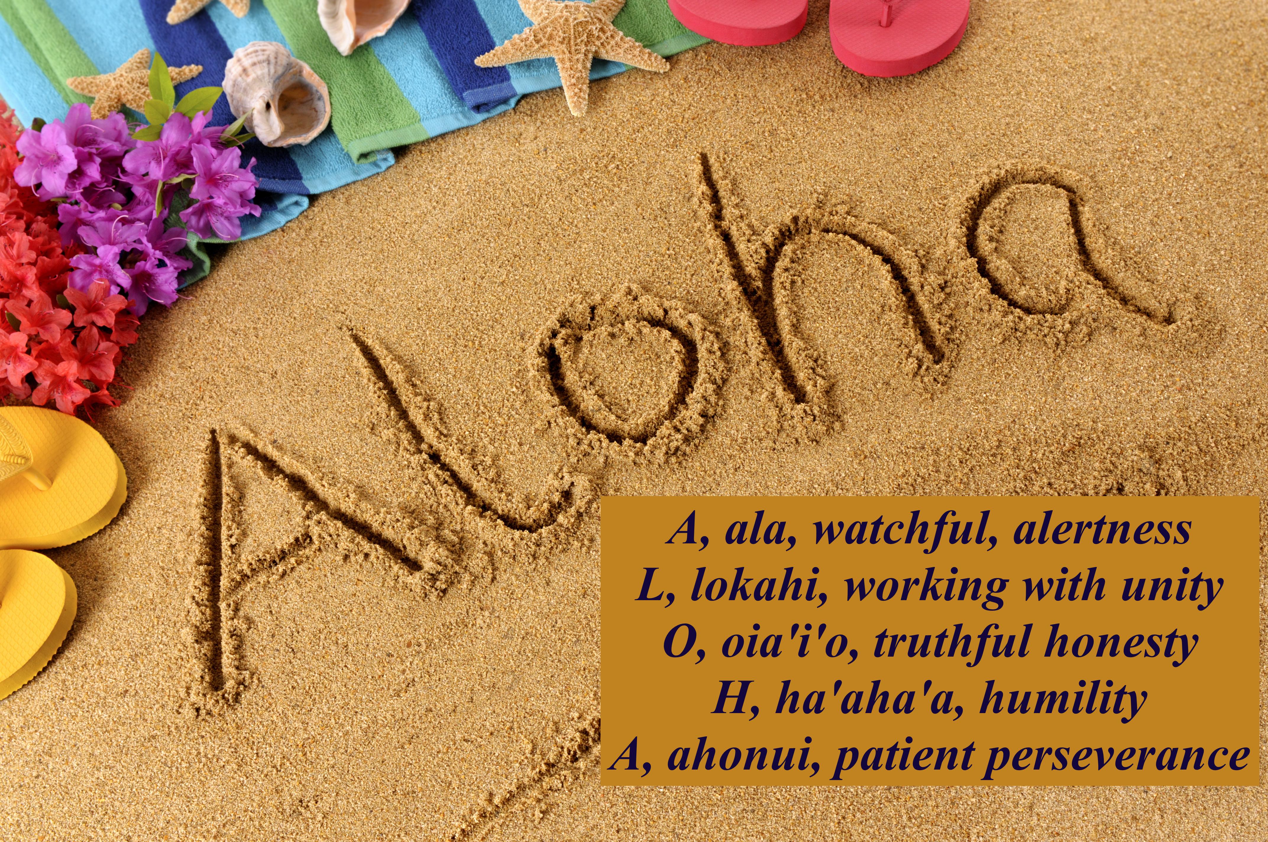 We will always be ohana ( family) in Aloha!