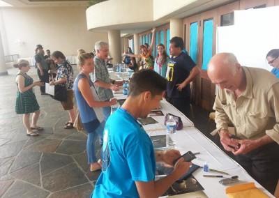 Celebrity Signing