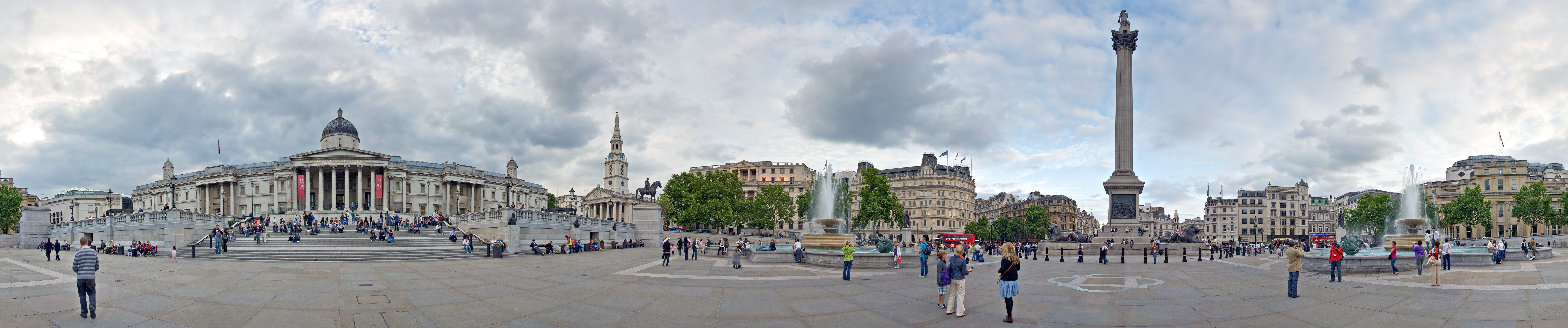 You will have your own studio apartment at the Hotel Citadines Trafalgar  Square!