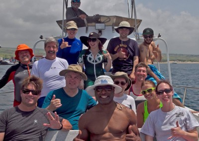 Rod Roddenberry and Christopher Judge join the Questers for a morning snorkel!