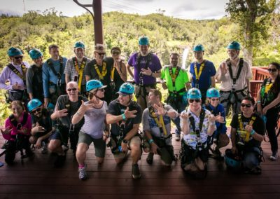 Our Zipline Group!