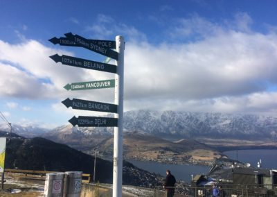 Roadsigns at the top of the world!